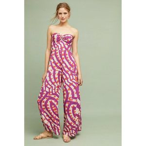 New Anthropologie Geometric Tracy Reese Jumpsuit